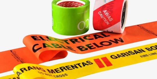 Barricade Tape, Caution Tape, Warning Tape, Hazard Tapes | Safety Tapes | 2S Packaging