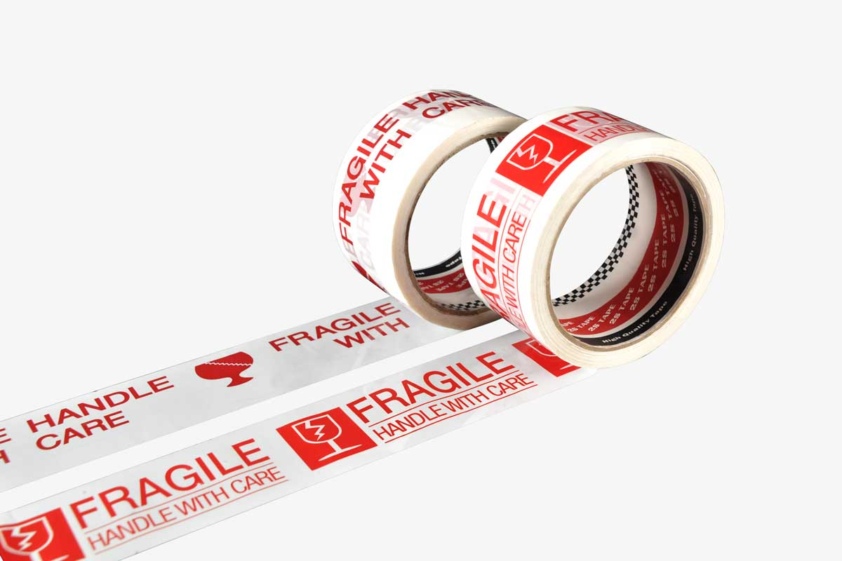 Fragile Tape | Fragile Sticker | Safety Tapes | 2S Packaging